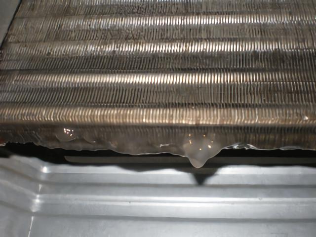 汚れた熱交換器